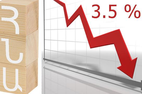 ЕБРР: В 2020 году ВВП Армении сократится на 3,5% из-за воздействия коронавируса