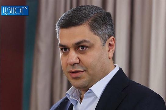 New anti-crisis government necessary to avoid humanitarian disaster in Armenia: Arthur Vanetsyan