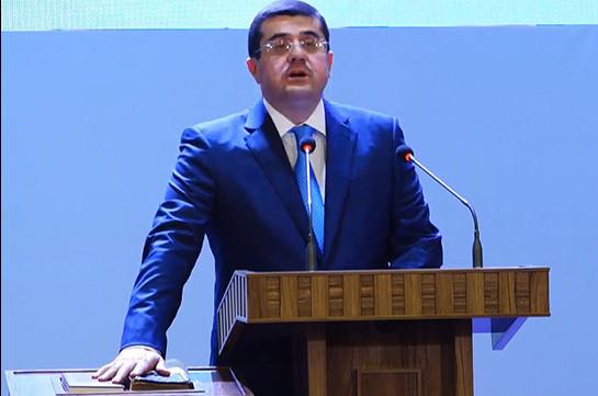 Мы намерены перенести парламент Арцаха в город Шуши – Араик Арутюнян