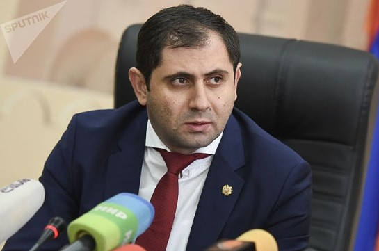 Territorial Administration and Infrastructures Minister Suren Papikyan tests negative