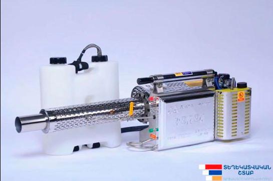 Արցախի առողջապահության նախարարությունը ձեռք է բերել 77 ախտահանիչ սարք