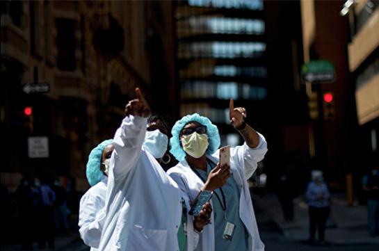 В США выявили более 25 тысяч новых случаев коронавируса за сутки