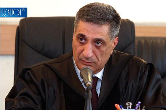 Апелляционные жалобы адвокатов Роберта Кочаряна завизированы на имя судьи Армена Даниеляна