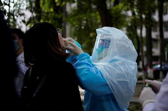 Չինաստանում մեկ օրում հայտնաբերվել է կորոնավիրուսի 11 դեպք