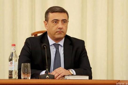 ԱԱԾ-ից կրկին հերքում են՝ Էդուարդ Մարտիրոսյանն աշխատանքից ազատման դիմում չի ներկայացրել վարչապետին