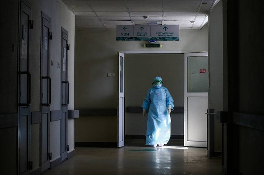 Russia's coronavirus case tally rises by 8,915 in past day
