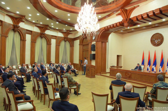 New structure of Artsakh Government established