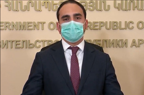 Return to quarantine regime possible in case of certain scenario: Tigran Avinyan