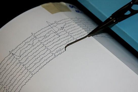 У побережья Греции произошло землетрясение магнитудой 5,0
