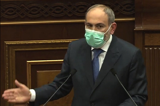 """Corrupt will soon """"calm down"""" after events of recent days: Armenia's PM"""