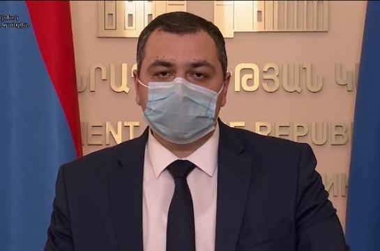 В реанимационном отделении койки заняты на 95 процентов – директор МЦ «Сурб Григор Лусаворич»