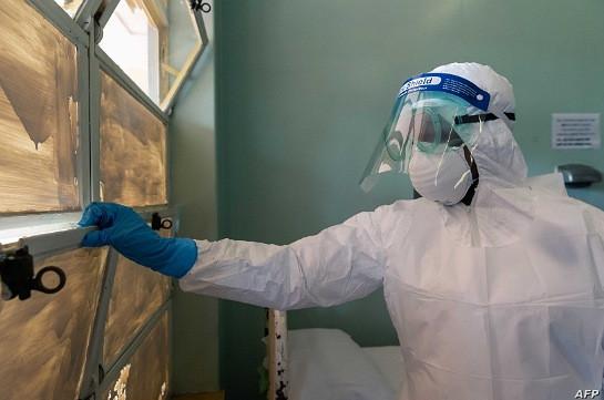 В инфекционной больнице Гюмри проходят лечение 79 пациентов с коронавирусной болезнью