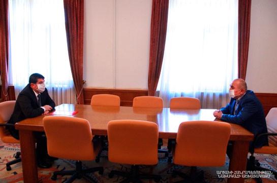 Самвел Бабаян в течение месяца должен представить предложения по новому уставу и структуре Совбеза Арцаха