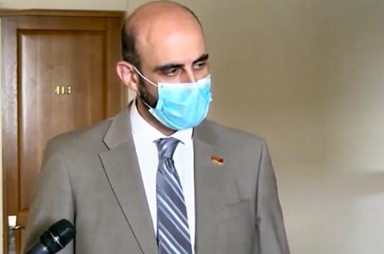 У нас наблюдается рост случаев инфицирования, то есть, мы пока не достигли пика – Нарек Зейналян