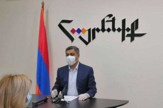 Никол Пашинян должен подать в отставку – Артур Ванецян (Hraparak.am)