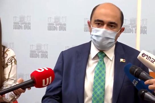 Civil aviation – another failed sector: Edmon Marukyan