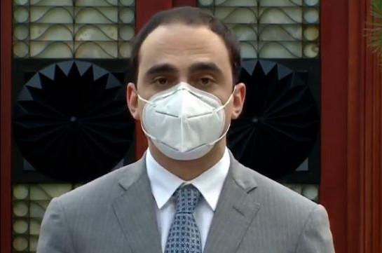 Ношение масок обязательно во всех открытых общественных местах – Тигран Авинян