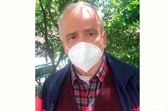 «Իմ կյանքը փրկելը հավասար էր հրաշքի». կորոնավիրուսով վարակված բժիշկը դուրս է գրվել հիվանդանոցից (Տեսանյութ)