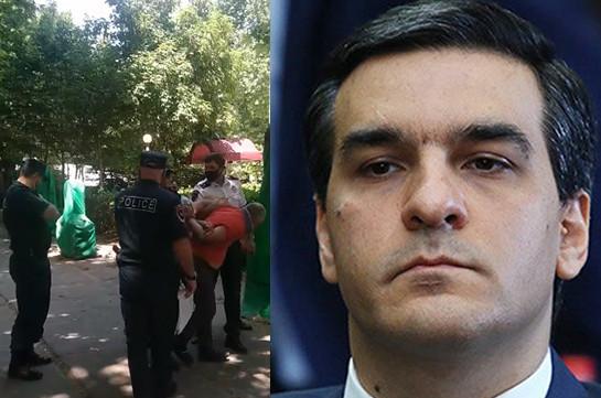 Դիմակ կրելը պարտադիր պահանջ է, սակայն ոստիկանների գործողությունները պետք է լինեն համաչափ․ ՄԻՊ