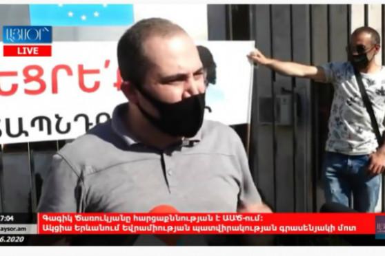 Activists urge EU Ambassador to get prepared for political response (Video)