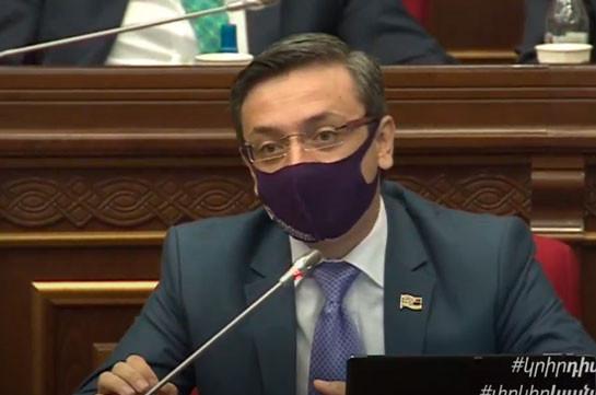 Геворк Горгисян: Вся фракция «Мой шаг» должна была самоизолироваться, но не сделала этого