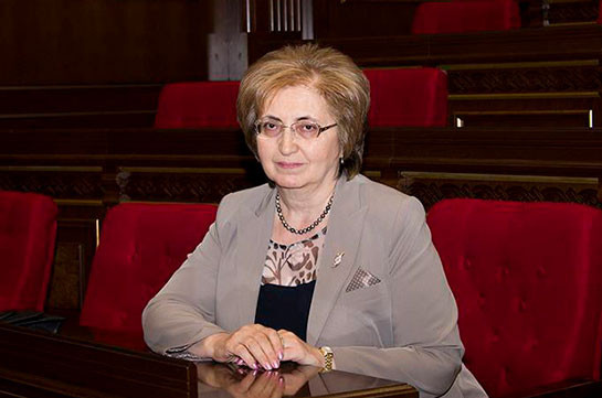 CC judge Alvina Gulumyan says adopted norm does not spread on her