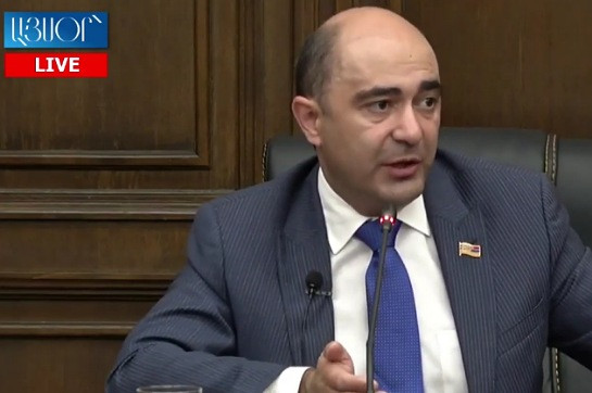 Bright Armenia to apply to CC after examination of Robert Kocharyan's application is complete: Edmon Marukyan