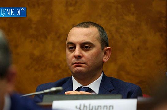 My Step deputy Viktor Yengibaryan tests positive for coronavirus