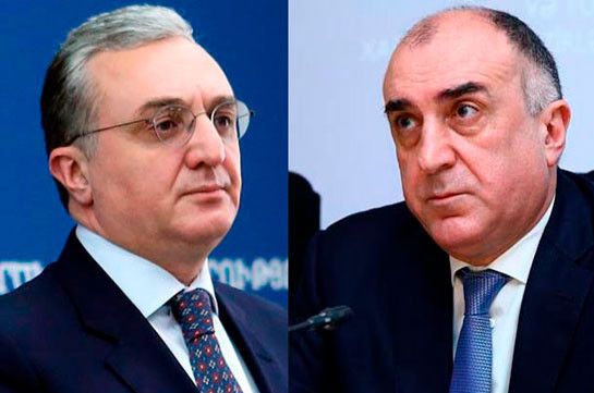 Armenian, Azerbaijani FMs to  hold video-conference on June 30