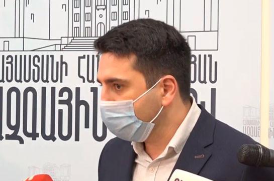 Я довольно равнодушен, поскольку не вижу ничего эпохального в этом заявлении – Ален Симонян об инициативе трех оппозиционных партий