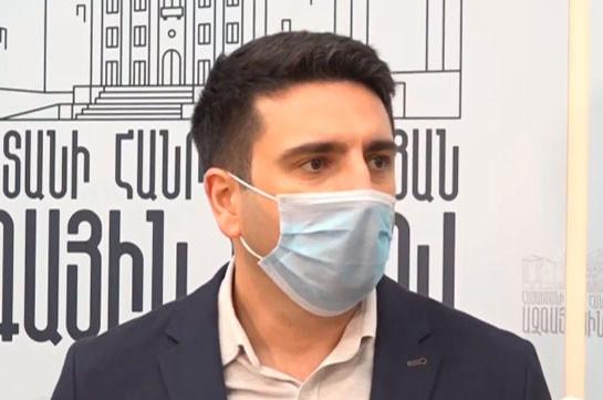 Уже смешно, что Наира Зограбян говорит о политических преследованиях – Ален Симонян