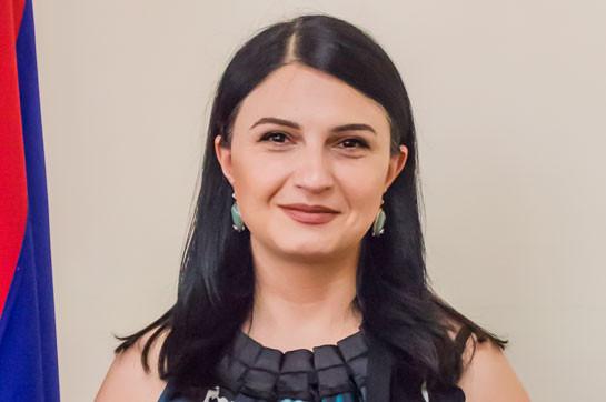 Депутат Лилит Степанян заразилась коронавирусом
