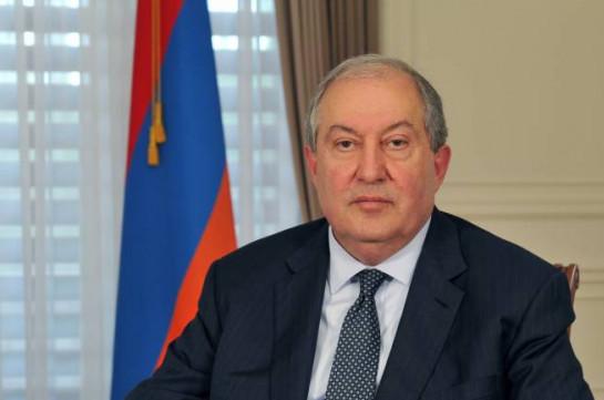 Президент Армении сообщил, что не подпишет закон о внесении изменений и дополнений в конституционный закон «О Конституционном суде» и смежные законы