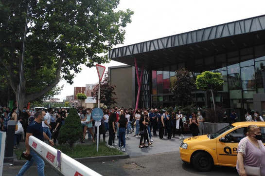 Call about bomb in Yerevan Mall food court false
