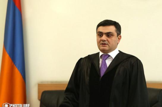 Апелляционная жалоба генпрокуратуры с требованием арестовать Гагика Царукяна завизирована на имя судьи Мхитара Папояна