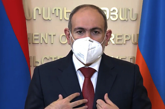 Pashinyan: June 2020 death statistics exceeds the past year's by 30%