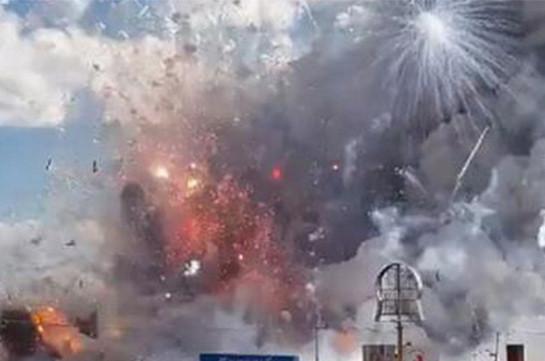 На фабрике фейерверков в Турции произошла серия взрывов