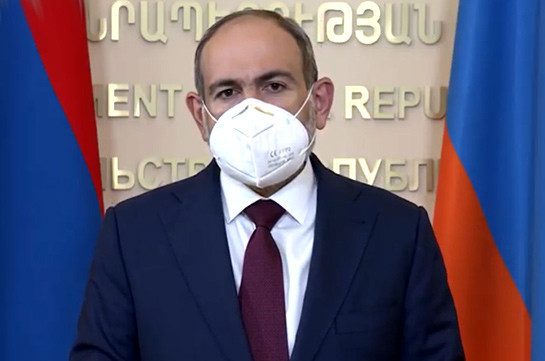 Armenia's PM does not exclude return to restriction regime