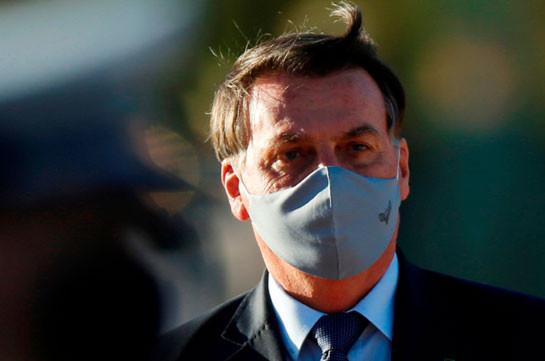 Բրազիլիայի նախագահ Բոլսոնարուն հայտնել է իր մոտ կորոնավիրուսի ախտանիշների մասին