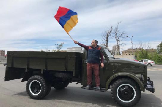 Հուլիսի 13-ին «ՎԵՏՕ» շարժման ղեկավարը իր մեքենայով կիրականացնի միայնակ ակցիա՝ Խոր Վիրապից դեպի Երևան