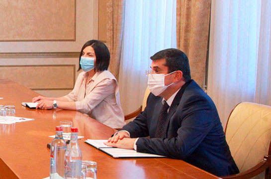 Artsakh President: Difficulties in educational sphere in the result of the pandemic created new challenges requiring new approaches for finding alternative solutions