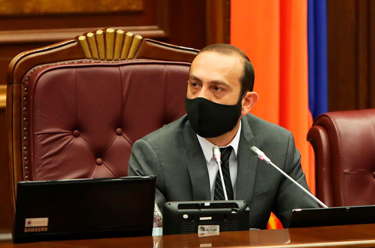 Armenia's NA chairman says former CC members applied to ECHR but not sure whether interim decision will be made