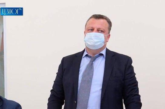 Высший судебный совет отклонил ходатайство о привлечении Александра Азаряна к дисциплинарной ответственности