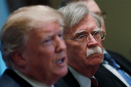 Բոլթոնը հայտարարել է, որ Թրամփը պատրաստ է Հարավային Կորեայից և Ճապոնիայից ԱՄՆ-ի զորքերը դուրս բերելու հրաման տալ