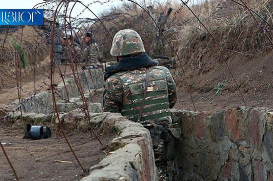 Առավոտյան հակառակորդը վերսկսել է հրետակոծել հայկական դիքերը. ՊՆ