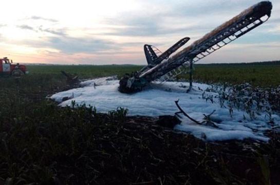 В Нижегородской области разбился Ан-2, один человек погиб (Видео)