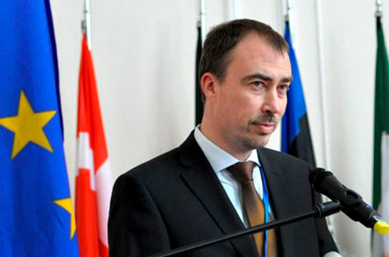 Toivo Klaar expressed concern over an 'exchange of fire on Armenia-Azerbaijan border'