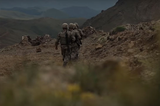 В Тавуше ранены трое военнослужащих, их жизням не угрожает опасность