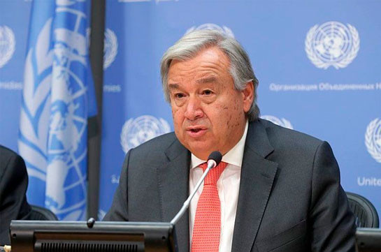 UN Secretary General urges immediate end to the fighting on Armenian-Azerbaijani border