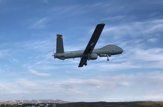 Ադրբեջանական «Elbit Hermes 900» ԱԹՍ-ի խոցումը (Տեսանյութ)